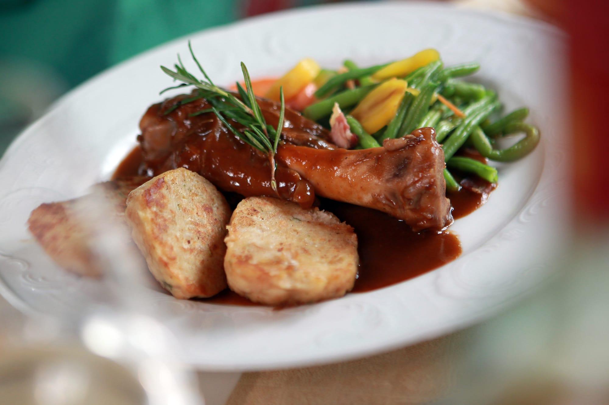 Slideshow Foto 3: Leckere Speisen bei Gasthof-Restaurant Dorfschmiede
